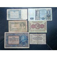 Банкноты старая Польша Есть Нечастые сборный лот