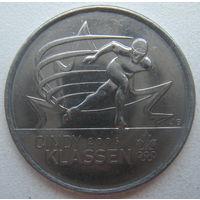 Канада 25 центов 2009 г. Синди Классен - шестикратный призёр Олимпийских игр