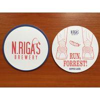 Подставка под пиво N.Riga's Brewery /Россия/