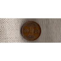 Германия 1 пфенниг 1929 A(Ab)