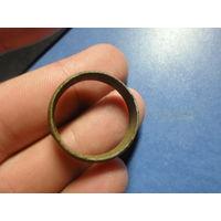 Старинное кольцо клеймо gold scharnier