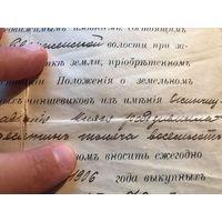 Документ - упоминание князя Радзивилла - 1913 год, Минский уезд