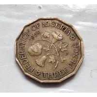 Нигерия 3 пенса, 1959 1-4-24