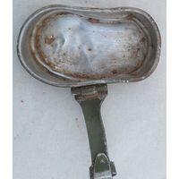 Крышка от котелка с дембельской надписью, 1954 год