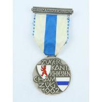 Швейцария, Памятная медаль 1962 год .  (1655)