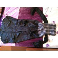 Черное платье (корсет и юбка)