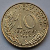 Франция, 10 сантимов 1993 г