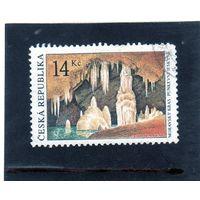 Чехия. Ми-356. Моравские карстовые пещеры. Серия: Красота нашей родины. 2003.