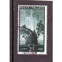 Италия. Ми-701. Серия Демократия.Новое растущее дерево и Италия. 1945