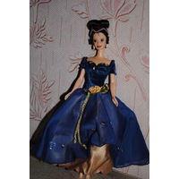 """Продам новое ПЛАТЬЕ для куклы Барби: """"Чайная РОЗА"""" - машинный самошив, сидит весьма аккуратно. Сама кукла, как и её головной убор в стоимость не входят. Пересыл по почте платный!"""