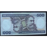 Бразилия. 500 крузейро 1981