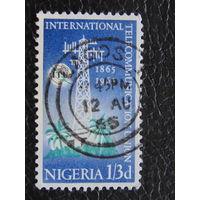 Нигерия 1965 г. Коммуникации. 100 лет.