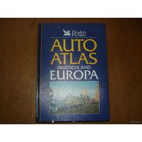 AUTOATLAS  DEUTSCHLAND  EUROPA
