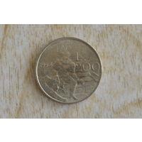 Сан-Марино 200 лир 1994