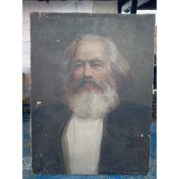 Картина на холсте маслом Карл Маркс