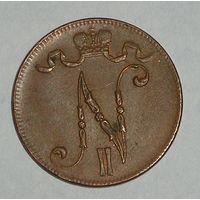 Русская Финляндия, 5 Пенни 1917 (96)