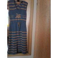 Красивое винтажное платье+ кофточка,ссср80е.