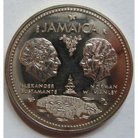 Ямайка 10 долларов 1972 г