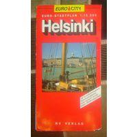 Helsinki,план города.