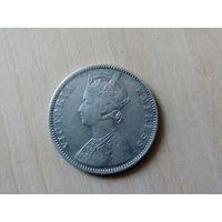 1 рупия 1886 Британская Индия