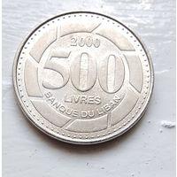 Ливан 500 ливров, 2000 4-12-25