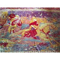 Плюшевый ковер СССР . Покрывало . Арабские сказки