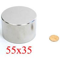 Неодимовый магнит N45,размер 55*35