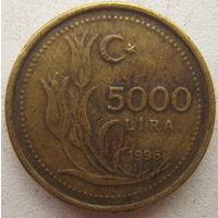 Турция 5000 лир 1996 г. (g)