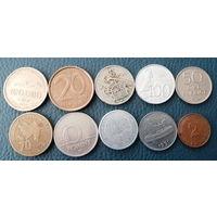 10 разных монет одним лотом. Лот 6