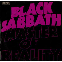 Black Sabbath- Master Of Reality - NEMS - UK. A-1, B-1.