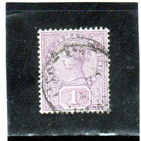 Ямайка. Ми-23. Королева Виктория. 1889.