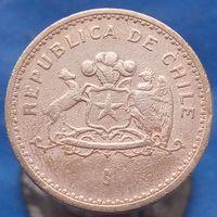 100 песо 1984 Чили КМ# 226.1 алюминиевая бронза