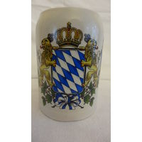 Кружка пивная 0,5 литра с гербом Баварии