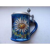 Германская пивная кружка Hindelanger-Keramik