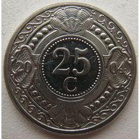 Нидерландские Антилы (Антильские острова) 25 центов 2004 г.