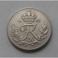 10 эре, Дания 1953 г.