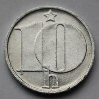 Чехословакия, 10 геллеров 1985 г.