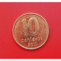60-36 Аргентина, 10 сентаво 2011 г.