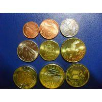 Малави 9 монет одним лотом