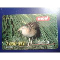 Словения 2001 птица
