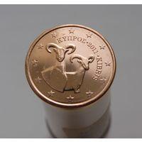 1 евроцент 2011 Кипр UNC из ролла