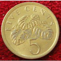 7520:  5 центов 1989 Сингапур