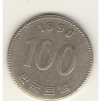 100 вон 1990 г.