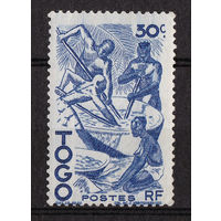 Французские колонии. Того - 1947 - Производство пальмового масла. **MNH
