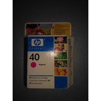 Струйный картридж HP(51640ME) Оригинал , просрочка до