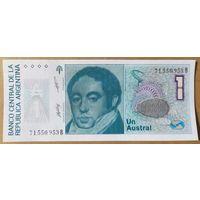 1 аустраль 1986 года - Аргентина - UNC