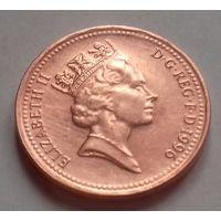 1 пенни, Великобритания 1996 г, AU