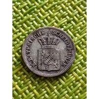 Германия ( Королевство ) Бавария 1 Крейцер 1858 г