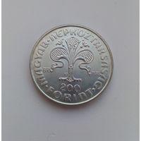 ВЕНГРИЯ  200 форинтов 1978 г.