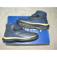 Высокие ботиночки KOTOFEY. Натуральная кожа